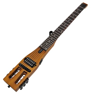 Anygig Travel Guitar Electric AGE SE Brown