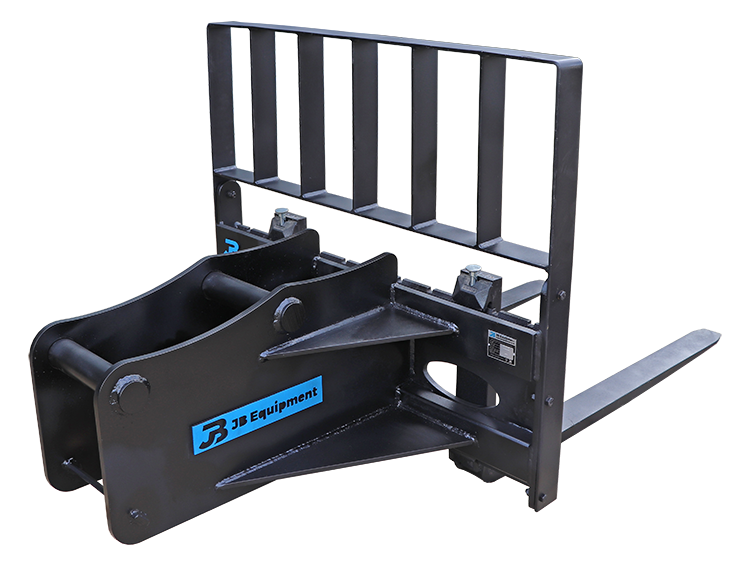 Excavator Pallet Forks Attachment