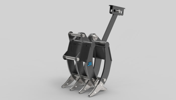 JB Mechanical Excavator Grapple Grab - 6 to 10 tonne