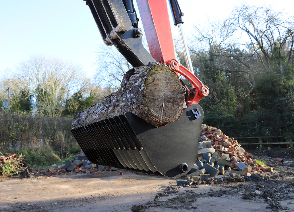 JB General Purpose Excavator Land Rake Bucket - 2-3 Tonne