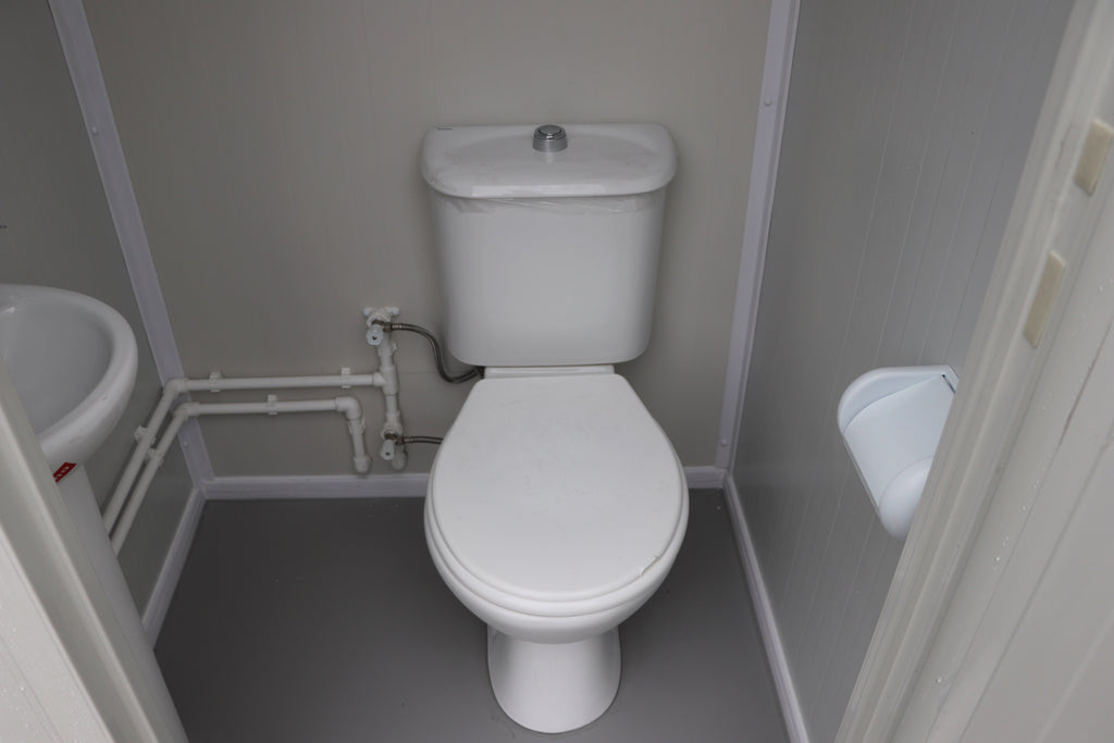 Prefab Single Mains Toilet Block