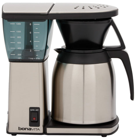 Bonavita 8 Cup Coffee Brewer with Thermal or Glass Carafe