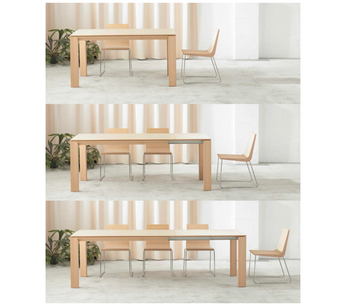 Iru Extendable Table (2-segment extension)