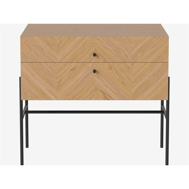 Luxe Drawer - 2 Drawers - Low