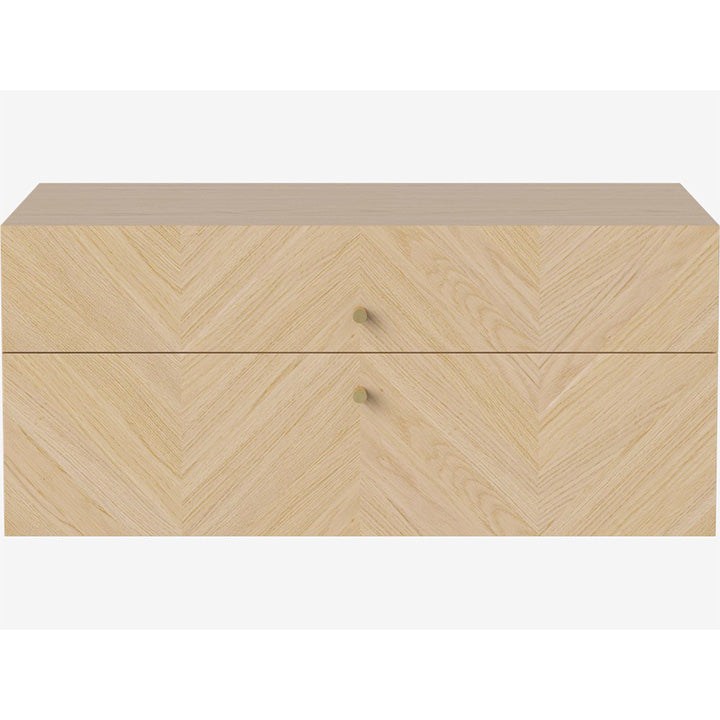 Luxe Drawer - 2 Drawers - Wall-Mounted