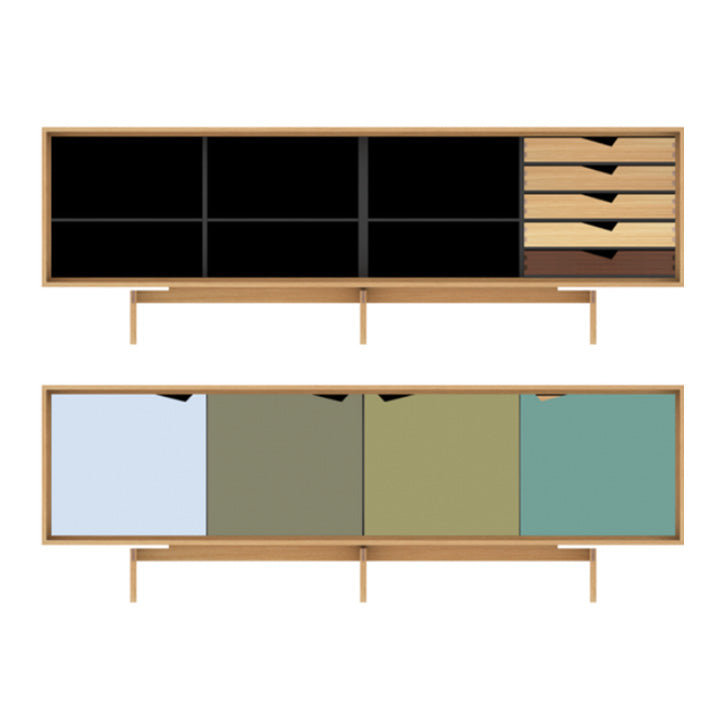 S1 Sideboard in Oak Shell By Andersen