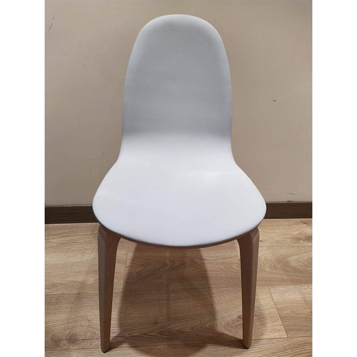 Bob Chair - Stained Beech Seat with Upholstery Surface