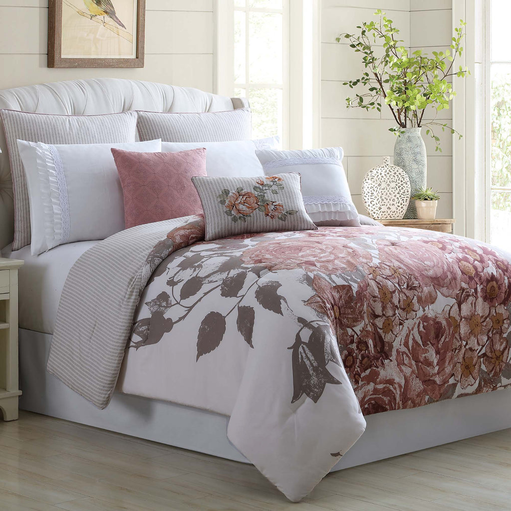 8 Piece Fiona Comforter Set