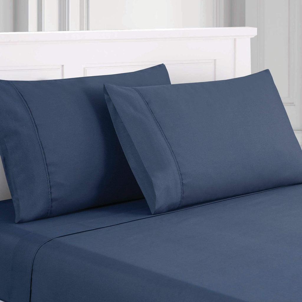 Deep-Pocket Ultra-Soft Solid - 3/4 Piece Sheet Set