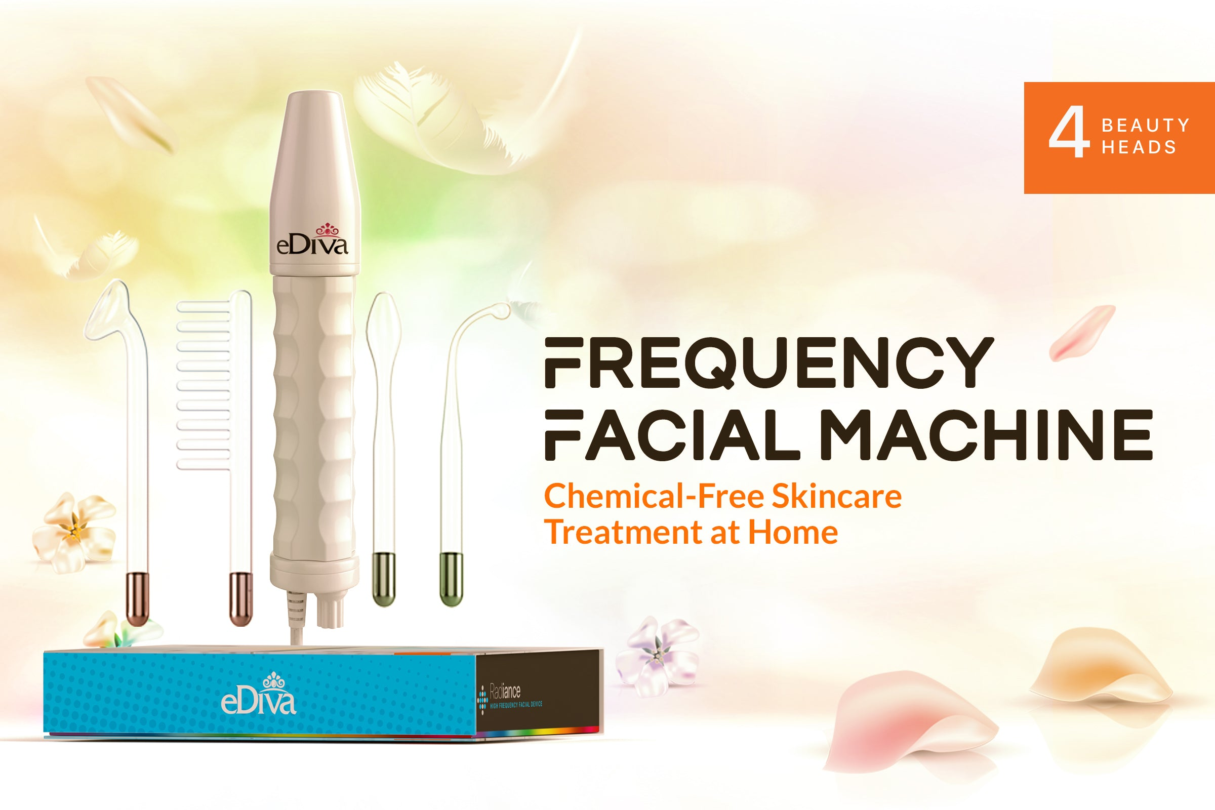 Chemical-Free Skin Care Treatment At Home:   High Frequency Facial Machine