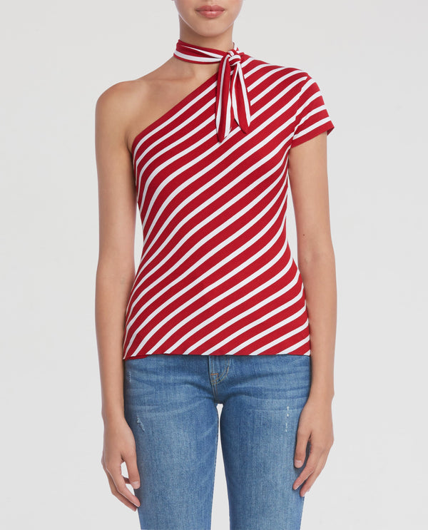 Red Chalk Stripe