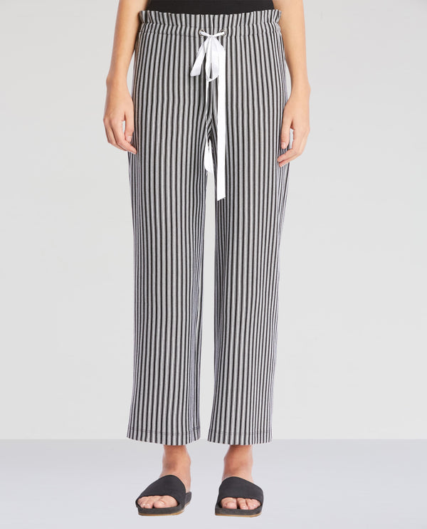 Black and Chalk Stripes