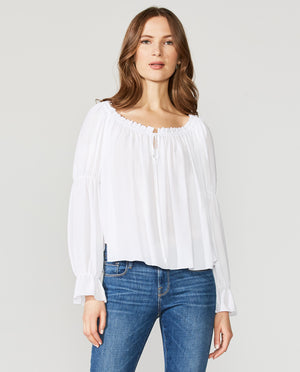 Beignet Georgette Top