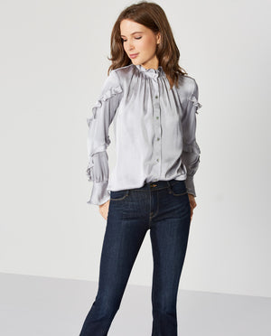 Baccarat Satin Blouse