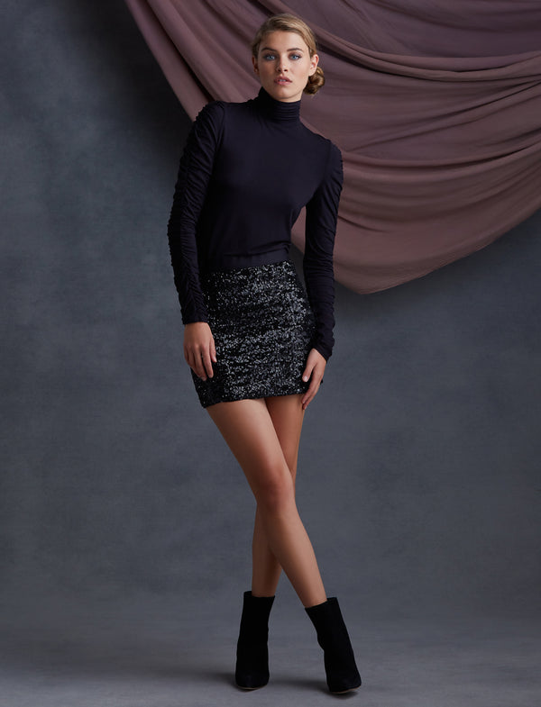 Brigitte Sequin Skirt