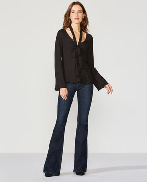 Ring My Bell Georgette Blouse