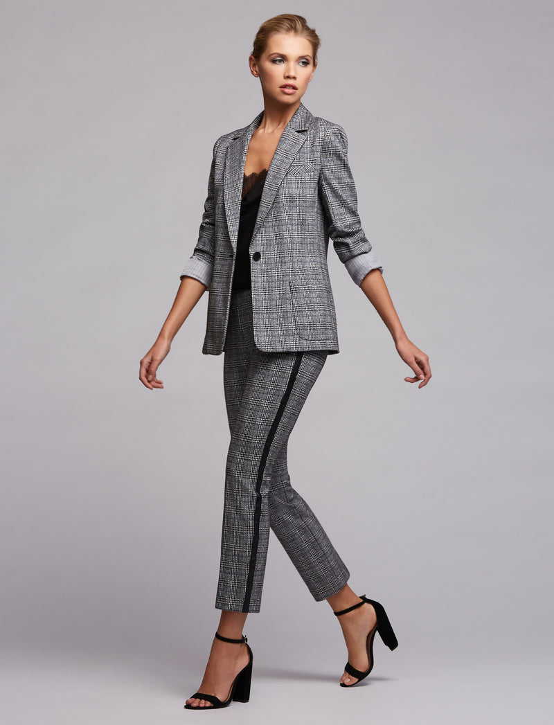 Linden Plaid Blazer
