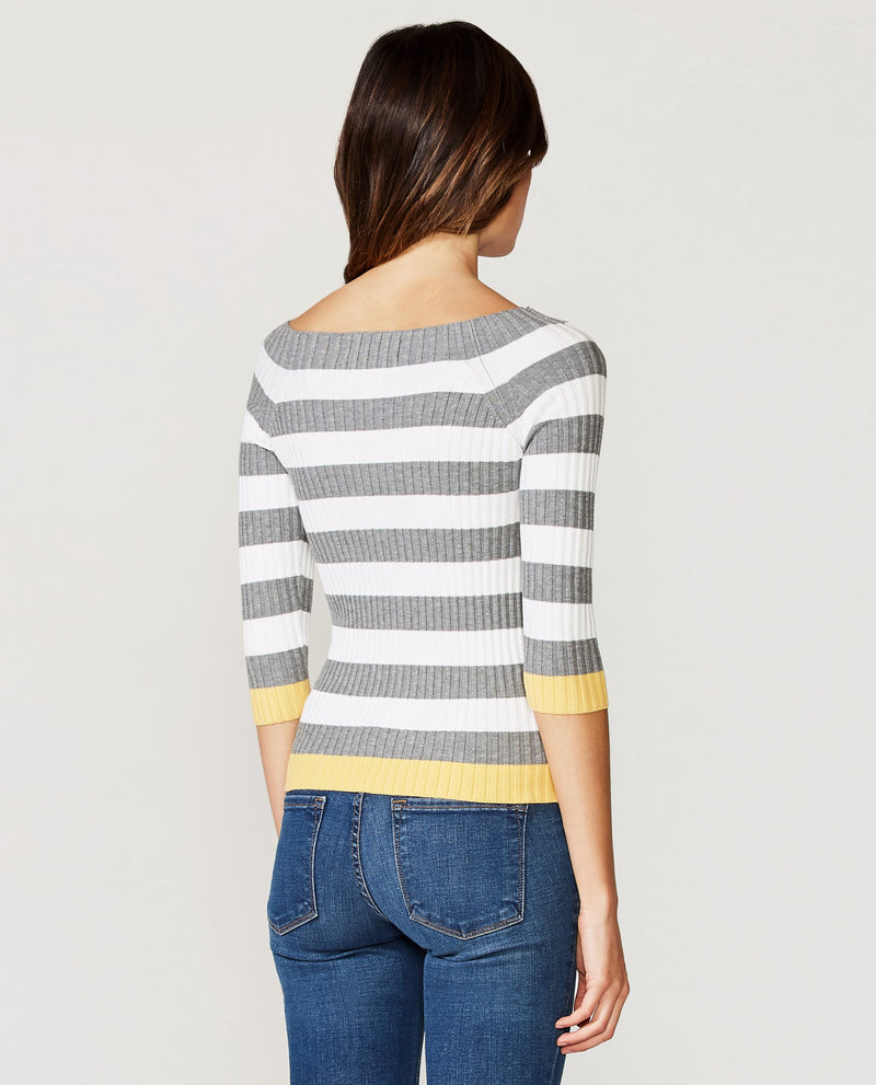Fog Chalk Stripe