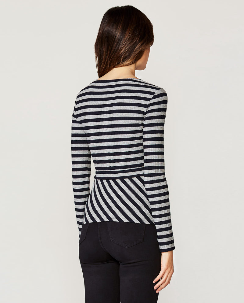 Midnight/Fog Stripe