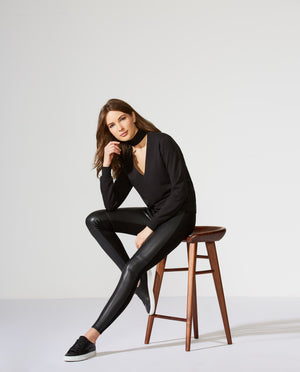 Eco Leather Stevie Pant