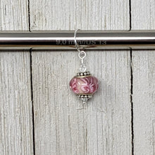 Load image into Gallery viewer, Large Hole Glass Bead Charm Stitch Markers