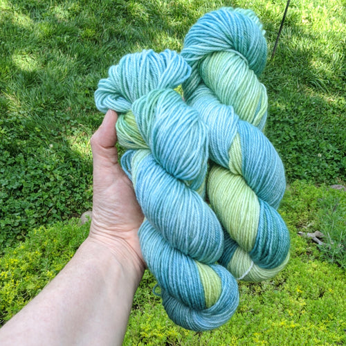 Wool Yarn 100% Superwash BFL in DK Weight