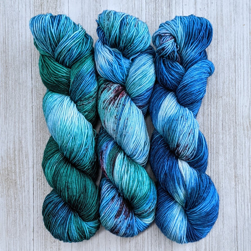 Oceans Three Skein Colorway