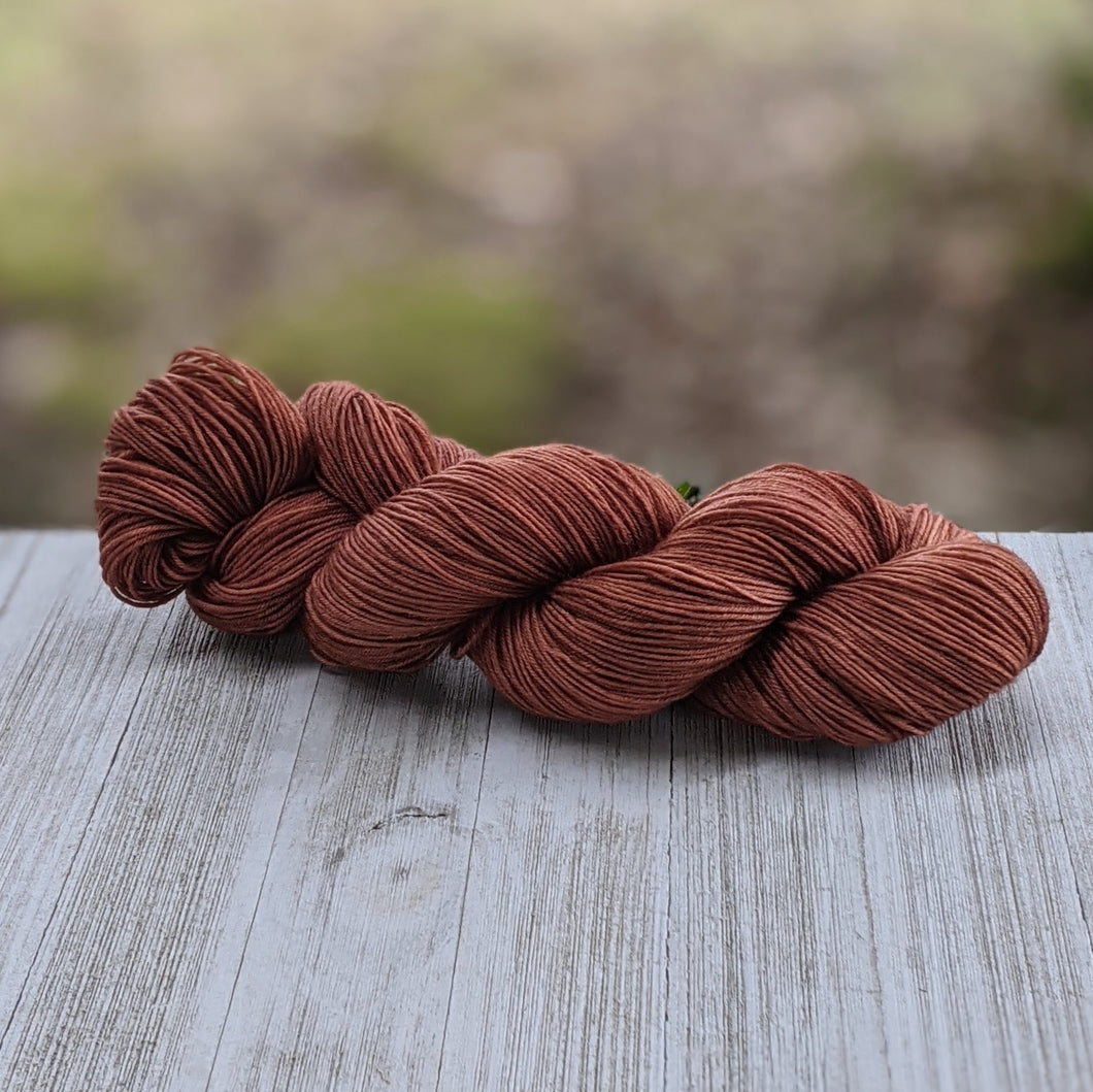 Light Chestnut Brown Yarn