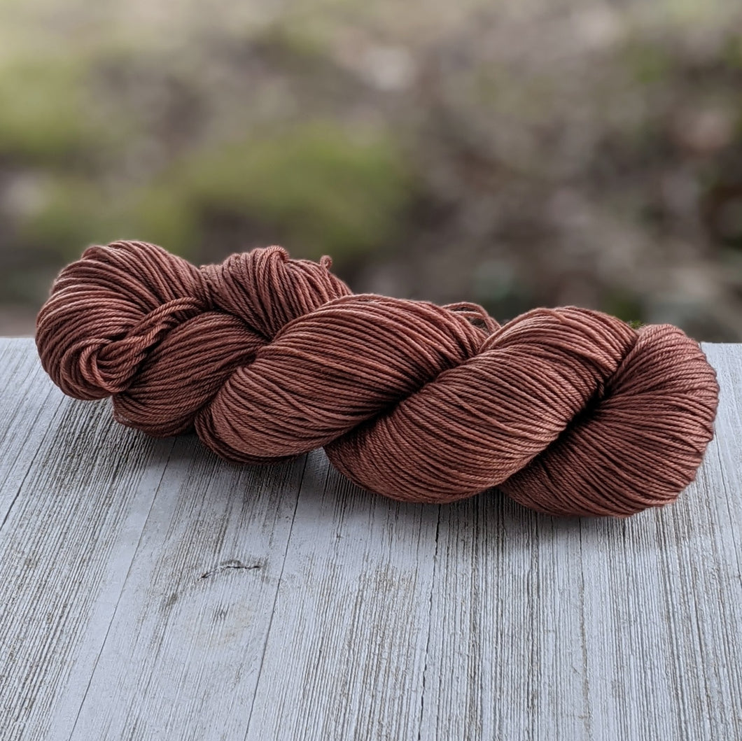 Chestnut Brown Yarn