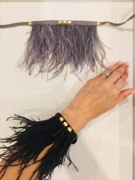 Leather & Feather Multi Accessory