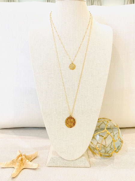 Short Coin Necklace
