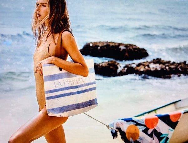 Luxe Mesh Beach Bag
