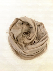 Cashmere and Silk Blend Scarves with Woven Lurex detail