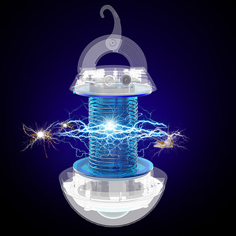 Bug Zapper Light, 2 in 1 Portable LED Mosquito Killer Lamp