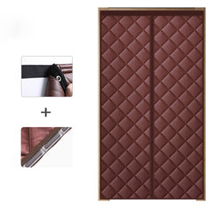 Door Curtain with Magnet Closure for Winter