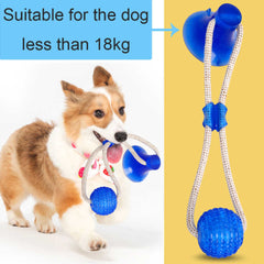 Multifunctional Pet Molar Bite Toy, 3 Colours