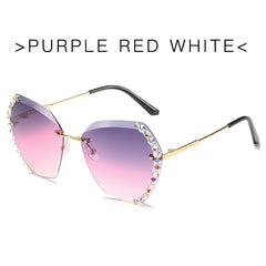 Perla Crystal Sunglasses,5 Colors!