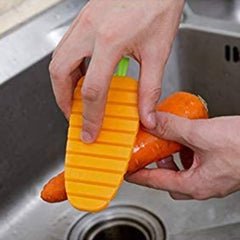 Carrot Shaped Cleaning Brushes For Kitchen