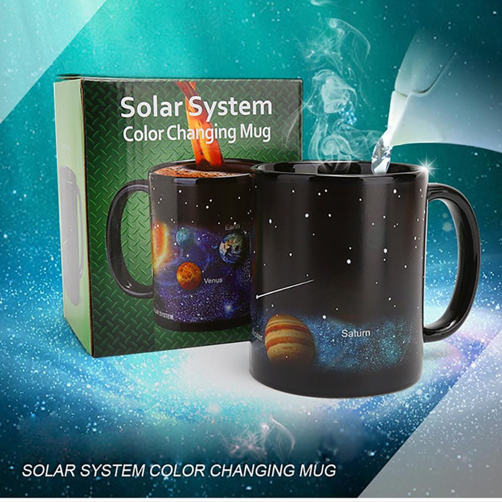 Heat Sensitive Color Changing Mug