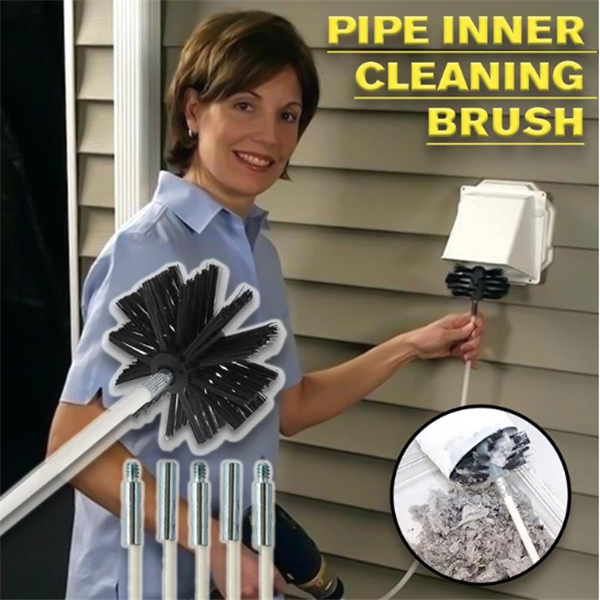 Dryer Pipe Cleaning Brush Kit