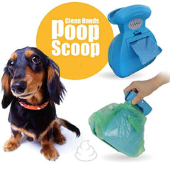 Portable Dog Poop Scooper With Waste Bag