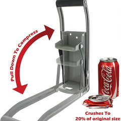 Eco-friendly Aluminum Can Crusher