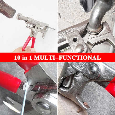 Outdoor 10-in-1 Multi-functional Hammer/Screwdriver/Pliers