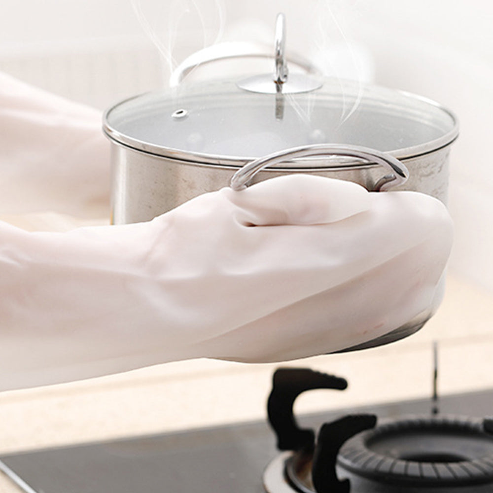 Multi-Functional Silicone Dishwashing Gloves