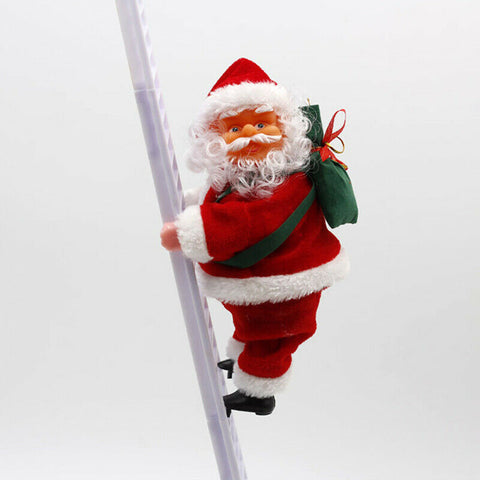 Electric Santa Claus Toy That Will Climb The Ladder