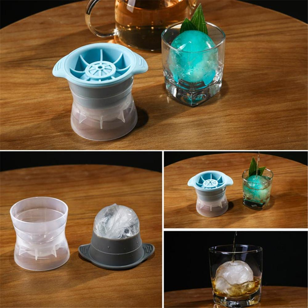 Sphere Ice Molds with Tight Silicone Seal, 2.5 Inch Sphere