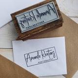 Custom Rubber and Wood Stamp