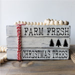 Wood Stack  - Farm Fresh Christmas Trees