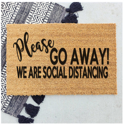 Please go away - social distancing