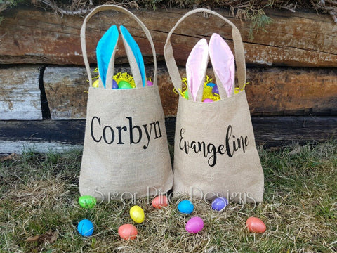 Easter Bags - Light Blue
